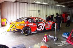 La n°31 dans le garage