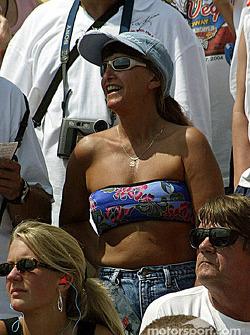 Fans at Atlanta Dragway