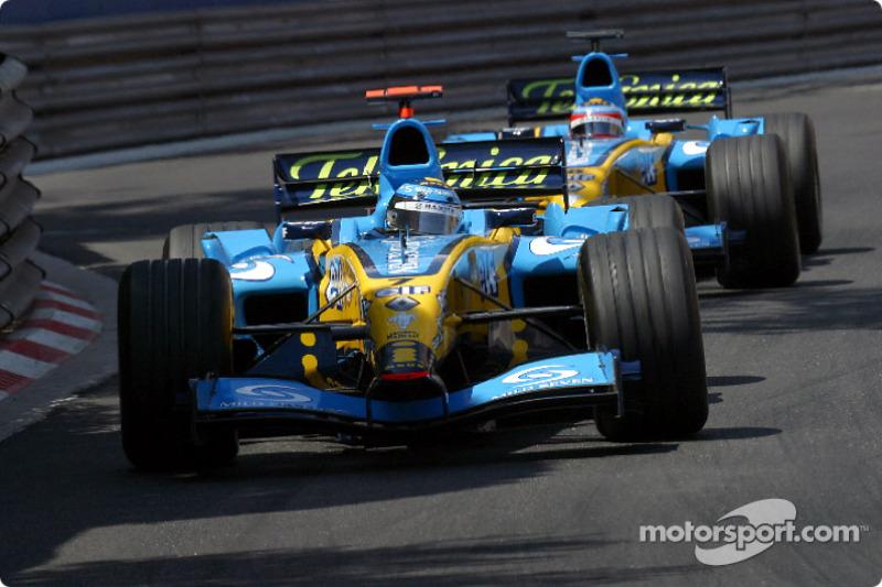 Ярно Трулли, Renault – Гран При Монако 2004 года