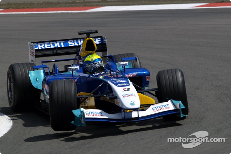 2004: Sauber C23 - 12 pontos, 12º lugar no Mundial de Pilotos