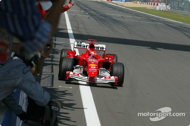 2004. Нюрбургрінг. Переможець: Міхаель Шумахер, Ferrari