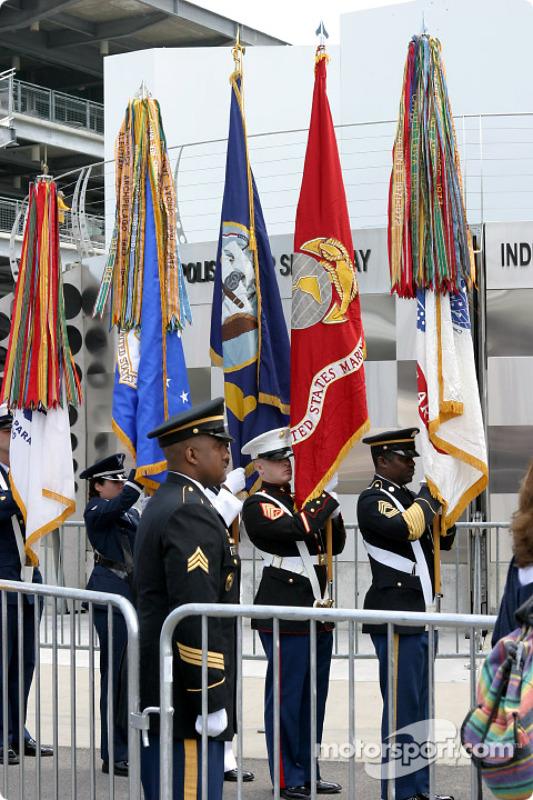 Le deuxième jour des qualifications s'appelait également l'Armed Forces Day