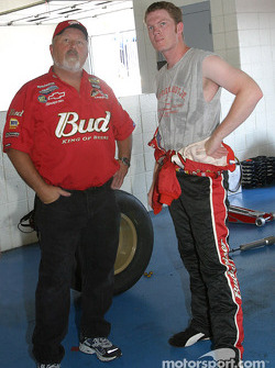 Tony Eury and Dale Earnhardt Jr.