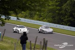 1973 Porsche 911 RSR and #00-1975 Porsche 911