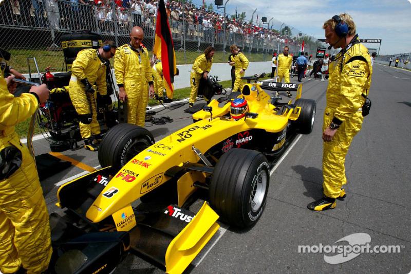 GP Canada 2004, Timo Glock, Jordan Ford