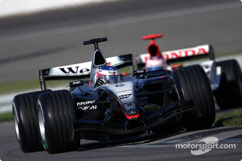 2004. Кімі Райкконен, McLaren MP4-19