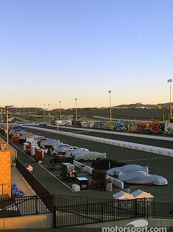 Sunrise at Infineon Raceway
