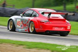 #45 Flying Lizard Motorsports Porsche 911 GT3RS: Johannes van Overbeek, Darren Law