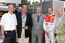 Dr Wolfgang Ullrich, Ralph Weyler, Dr Martin Winterkron, Frank Biela and Dr Werner Mischke