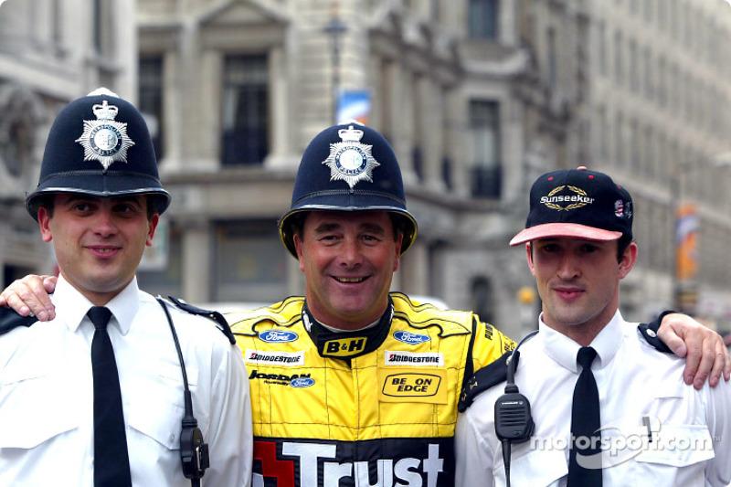 Nigel Mansell meets London Police