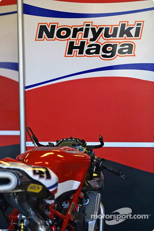 La moto de Noriyuki Haga