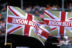 Jenson Button's fans