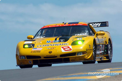 #8 Corvette Racing Corvette C5-R: Boris Said, Dale Earnhardt Jr.