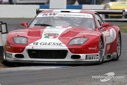 #11 G.P.C. Giesse Squadra Corse Ferrari 575 M Maranello: Fabio Babini, Philipp Peter