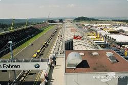 Nürburgring garage area