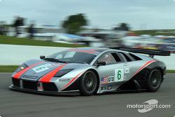 #6 Krohn-Barbour Racing Lamborghini Murcielago R-GT: Tracy Krohn, Scott Maxwell
