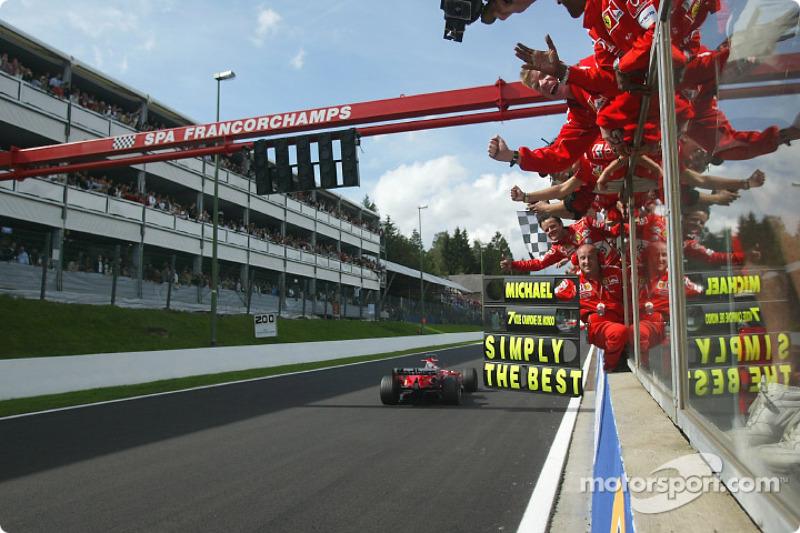 Michael Schumacher, Scuderia Ferrari, campeón del mundo de F1 2004