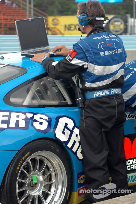 Un membre du Racers Group