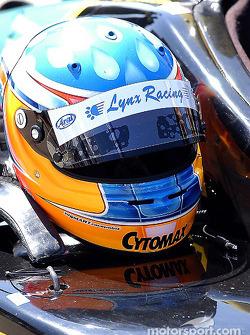 Le casque de Bryan Sellers