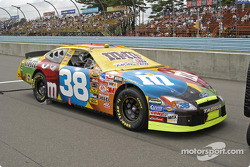 Elliott Sadler's car on the grid