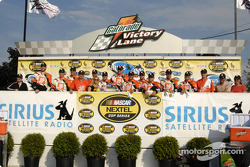 Tony Stewart and the winning crew