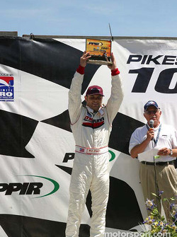 P.J. Chesson, winner of the Pikes Peak 100