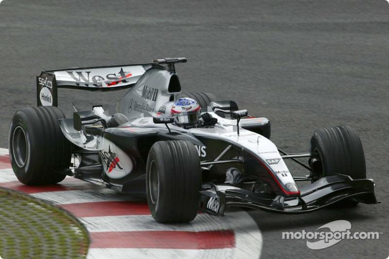 2004 Belçika: McLaren