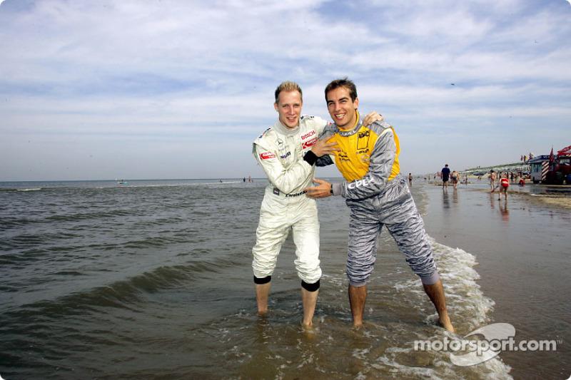 Charles Zwolsman (F3 Euroserie) and Jeroen Bleekemolen