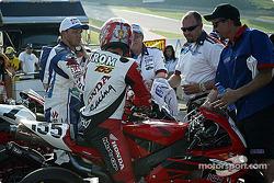 Superbike Saturday race
