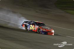 Jeff Gordon loses his engine