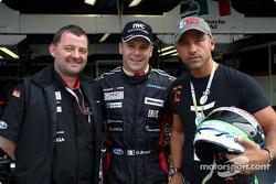 Paul Stoddart, Gianmaria Bruni and Eros Ramazzotti