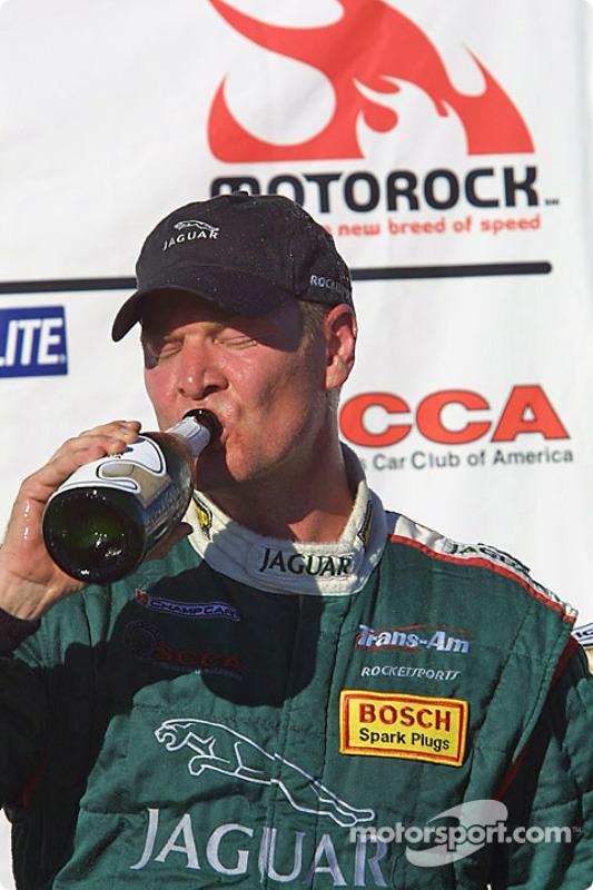 Podium: race winner Tommy Kendall