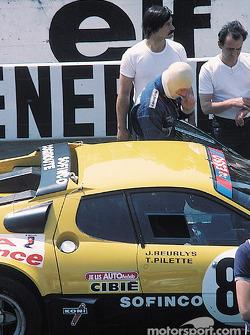 La Ferrari 512BB Ecurie Francorchamps : Teddy Pilette, Raymond Touroul, Jean Beurlys