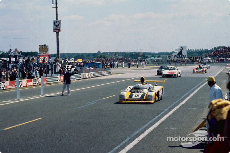 Winning the 1978 Le Mans 24 Hours for Renault, with Jean-Pierre Jaussaud as co-driver.