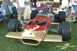 Jochen Rindt Lotus 49 on display