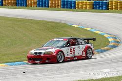 La BMW M3 n°95 Alegra Motorsport/GT Technologies : Ross Bleustein, Hugh Plumb
