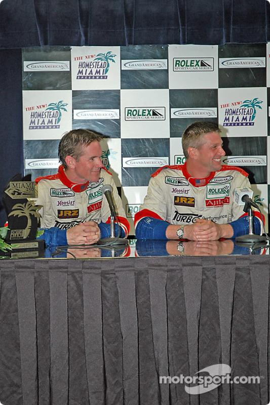 Conférence de presse : Randy Pobst et Michael Levitas