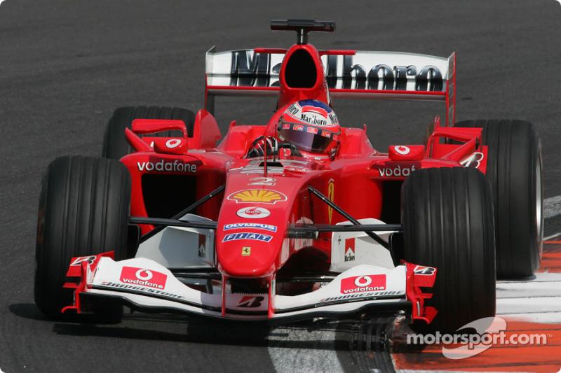 2004 : Rubens Barrichello, Ferrari F2004