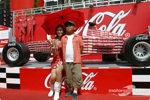 Coca-Cola display area