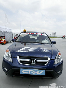 Honda safety car