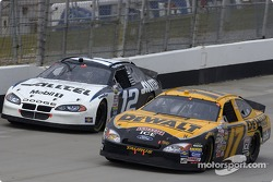 Matt Kenseth and Ryan Newman