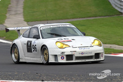 #96 IN2 Racing Porsche 911 GT3 RSR: Juan Barazi, Michael Vergers