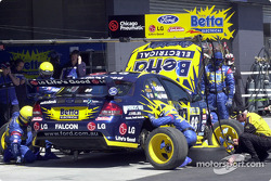 Paul Radisich in for tyres