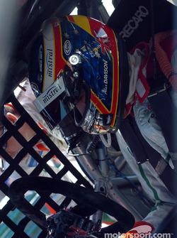 Alex Davison in the third Perkins/Castrol car
