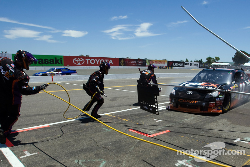 Pitstop Denny Hamlin, Joe Gibbs Racing Toyota