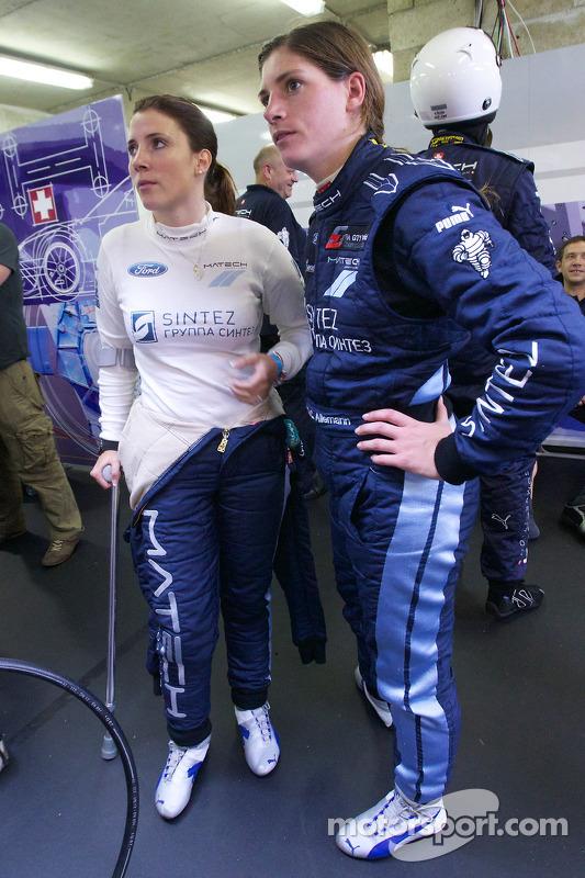 Natacha Gachnang en Cyndie Allemann