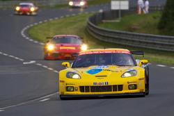 #63 Corvette Racing Chevrolet Corvette C6 ZRL: Jan Magnussen, Johnny O'Connell, Antonio Garcia