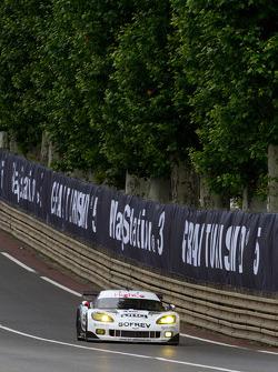 #73 Luc Alphand Aventures Corvette C6.R: Julien Jousse, Xavier Maassen, Patrice Goueslard