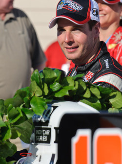 Victory lane: race winner Will Power, Team Penske