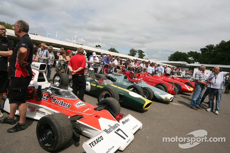 Verzamelgebied voor historische F1